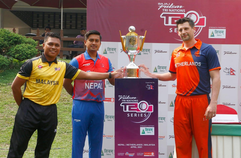 Nepal Tri-Nations T20I Series 2021, Nepal, Netherlands, Malaysia