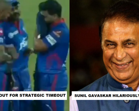 10-12 Logo Ko Aur Le Aana Tha- Sunil Gavaskar Hilariously Trolls Delhi Capitals Dugout After Strategic Timeout As The Commentary Box Bursts Into Laughter