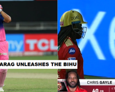 IPL 2021: Watch- Riyan Parag Does The Bihu Dance After Taking Chris Gayle's Wicket