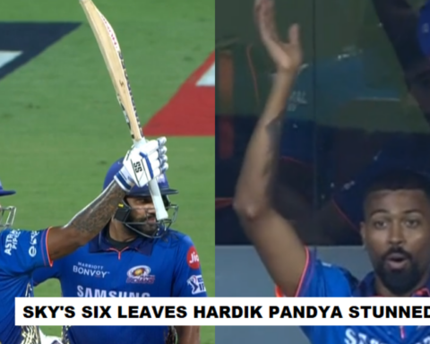 Watch: Hardik Pandya Stunned As Suryakumar Yadav's Six Off Pat Cummins Lands On The Roof Of Chepauk
