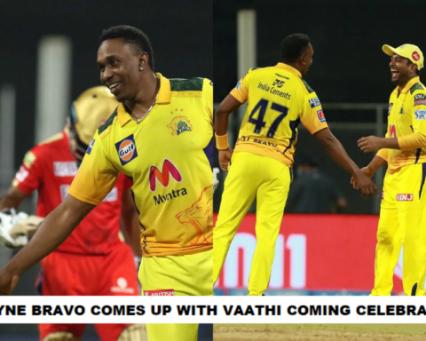 Watch: Dwayne Bravo Comes Up With The Vaathi Coming Celebration After Dismissing Murugan Ashwin