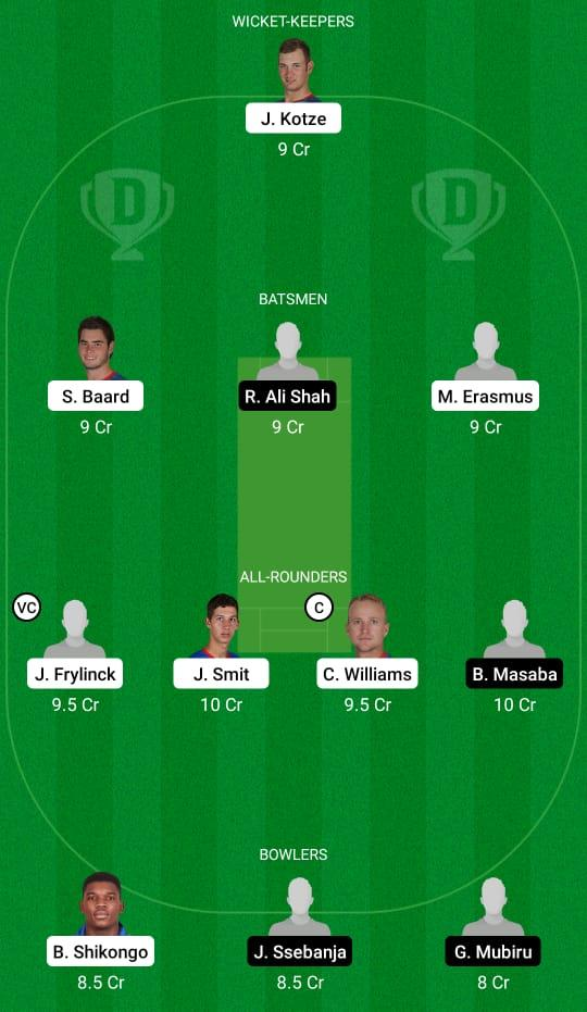 Namibia vs Uganda Dream11 Prediction Fantasy Cricket Tips Dream11 Team