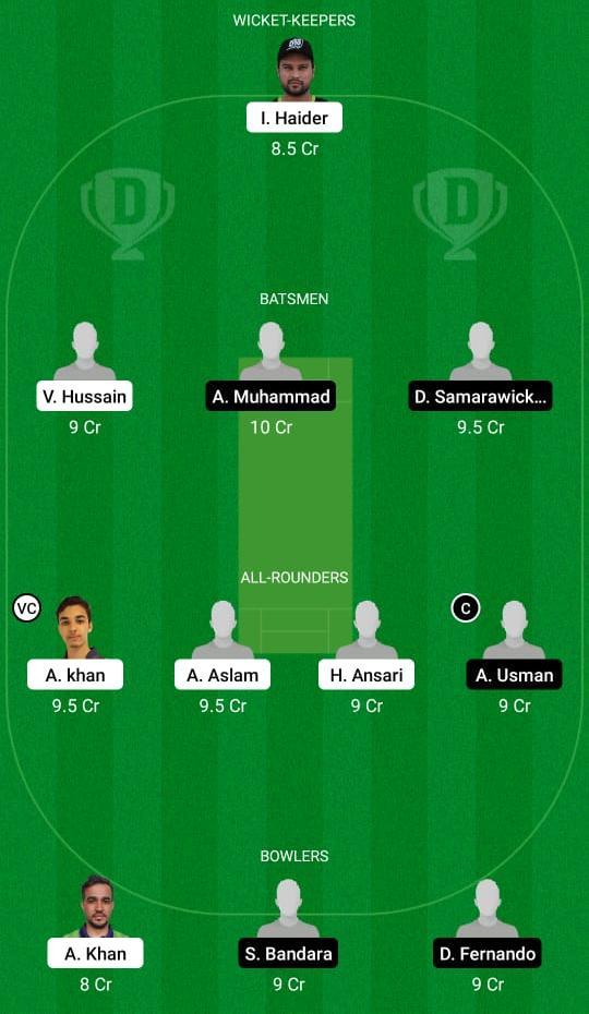 PU vs MK Dream11 Prediction Fantasy Cricket Tips Dream11 Team ECS T10 Milan