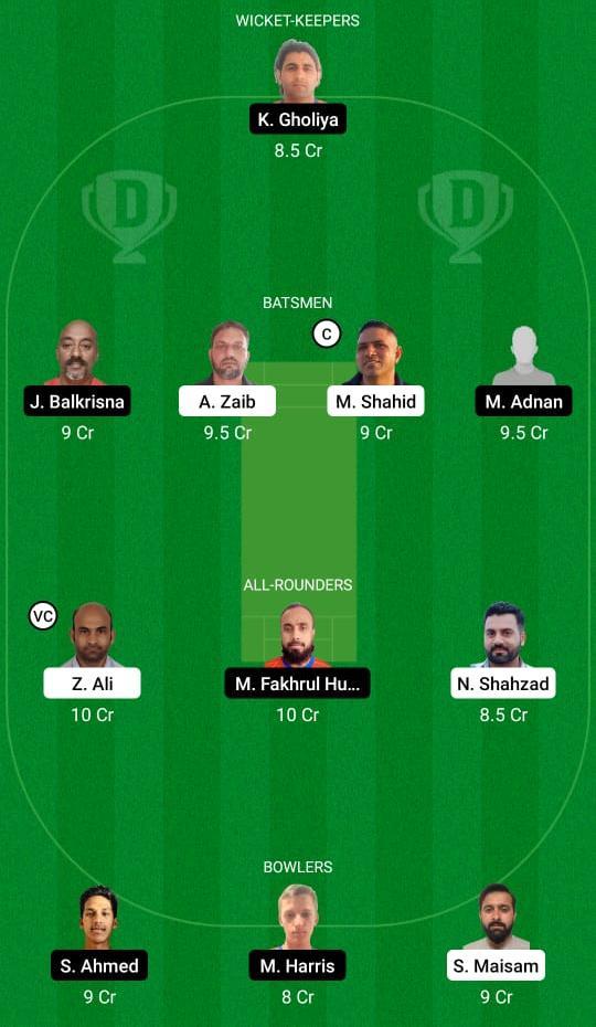 MAL vs OEI Dream11 Prediction Fantasy Cricket Tips Dream11 Team Portugal T10