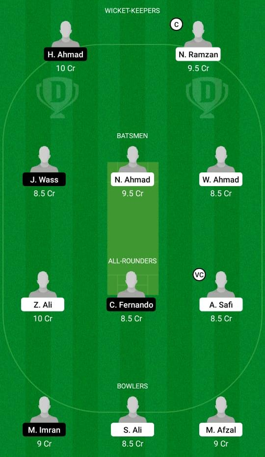 JAB vs JIB Dream11 Prediction Fantasy Cricket Tips Dream11 Team ECS T10 Brescia