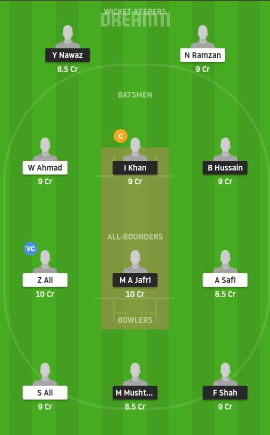 BRE vs JAB Dream11 Prediction Fantasy Cricket Tips Dream11 Team ECS T10 Brescia