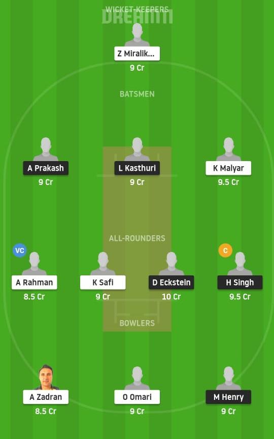VCC vs VID Dream11 Prediction Fantasy Cricket Tips Dream11 Team ECS T10 Vienna