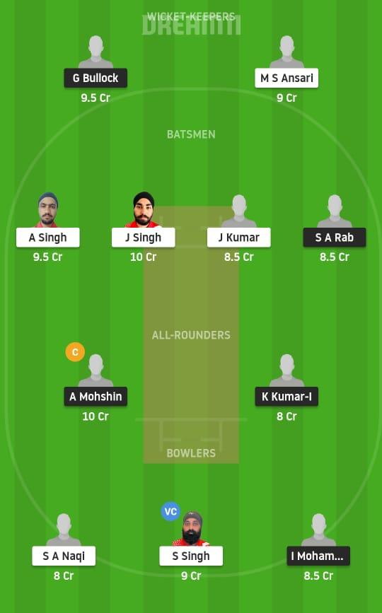 MD vs IR Dream11 Prediction Fantasy Cricket Tips Dream11 Team Portugal T10