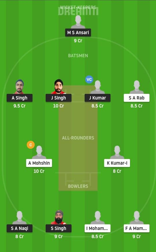 IR vs MD Dream11 Prediction Fantasy Cricket Tips Dream11 Team Portugal T10