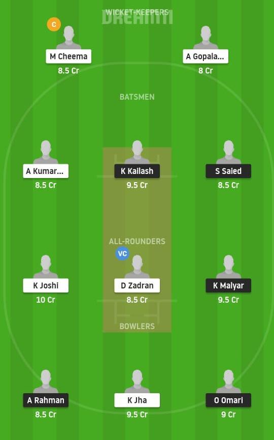 VID vs INV Dream11 Prediction Fantasy Cricket Tips Dream11 Team ECS T10 Vienna