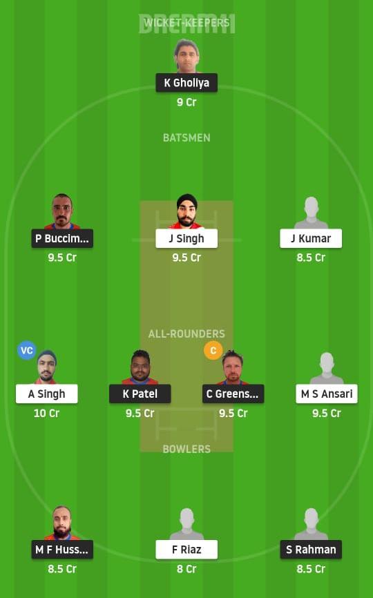 OEI vs IR Dream11 Prediction Fantasy Cricket Tips Dream11 Team Portugal T10