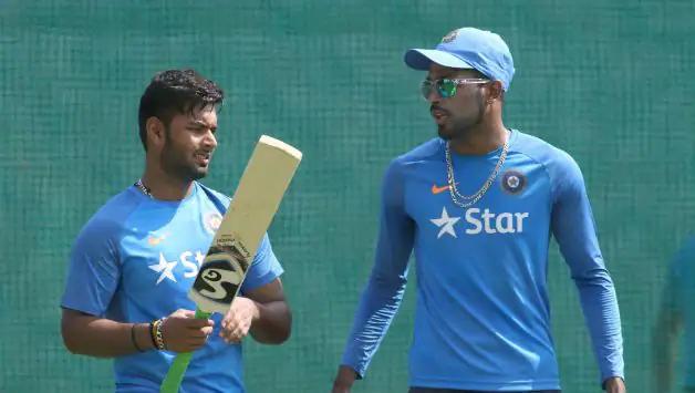 Rishabh Pant and Hardik Pandya (Photo- AFP)