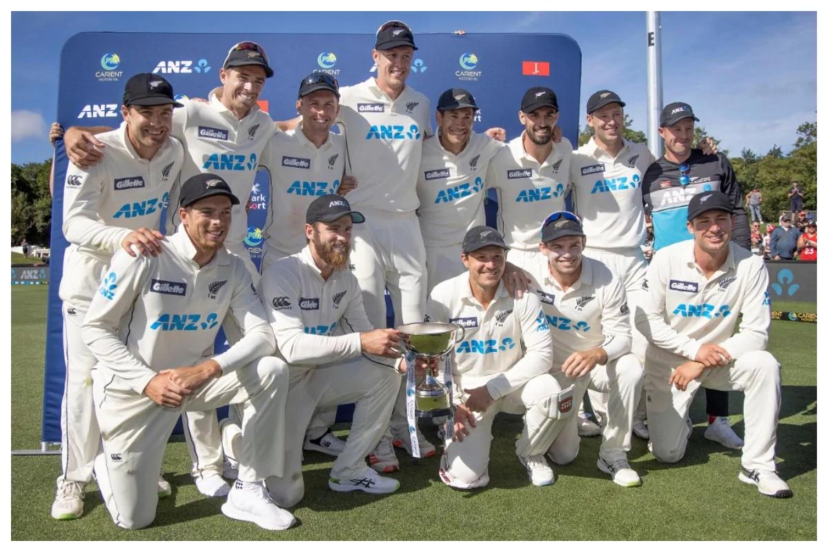 New Zealand Test team (Photo-AFP)