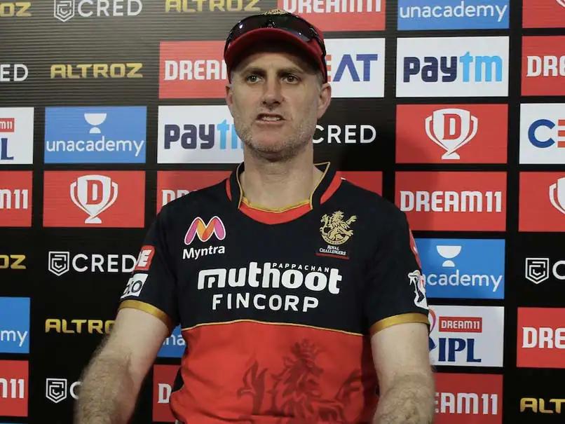 RCB head coach Simon Katich (Photo- BCCI)