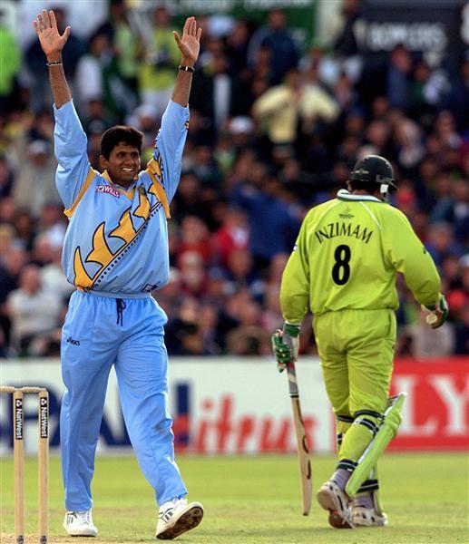 Venkatesh Prasad in 1999 World Cup (Photo- Twitter)