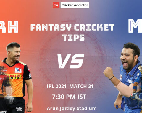 SunRisers Hyderabad (SRH) vs Mumbai Indians (MI) Dream11 Prediction, Fantasy Cricket Tips, Playing XI, Fantasy Team, Pitch Report, Dream11 Team, Injury Update of VIVO IPL 2021.