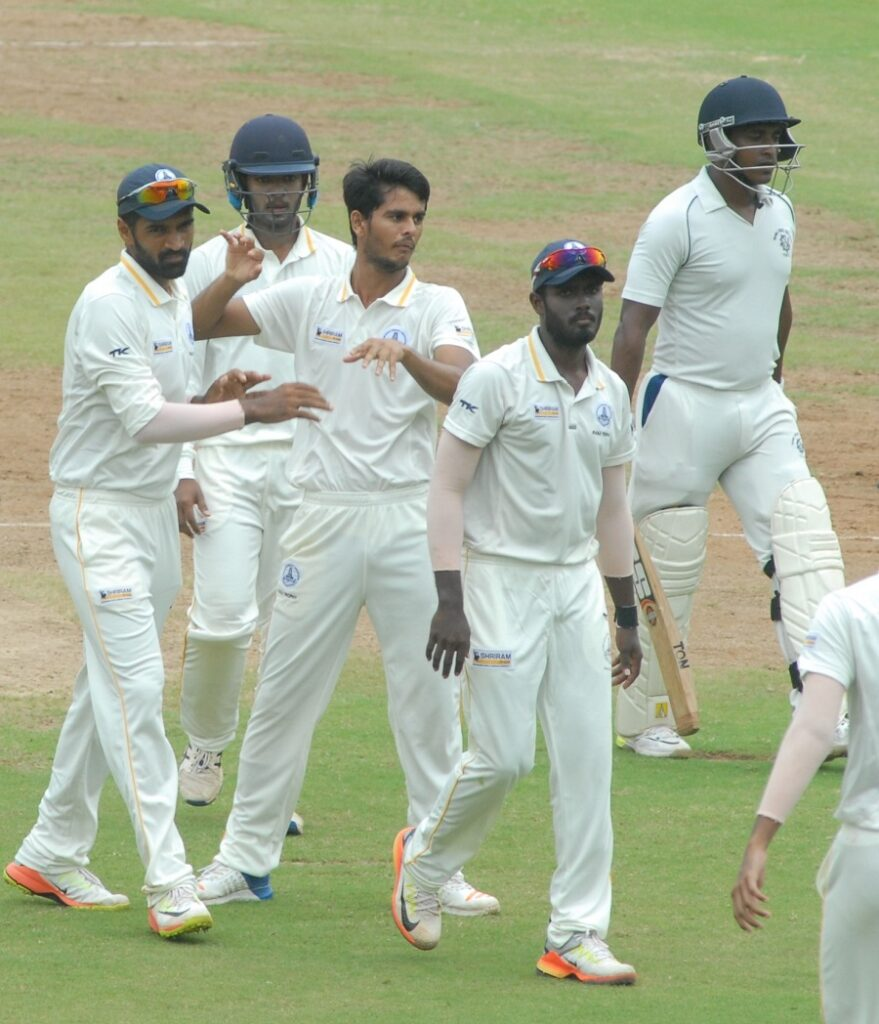 Tamil Nadu v Tripura Ranji Trophy match (Photo- Twitter)