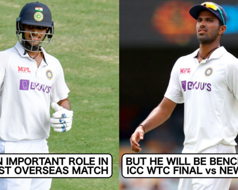 5 Indian Players Who Might Be Benched In The ICC WTC Final