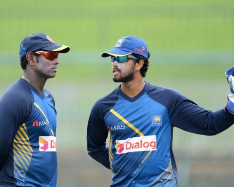 Angelo Mathews and Dinesh Chandimal