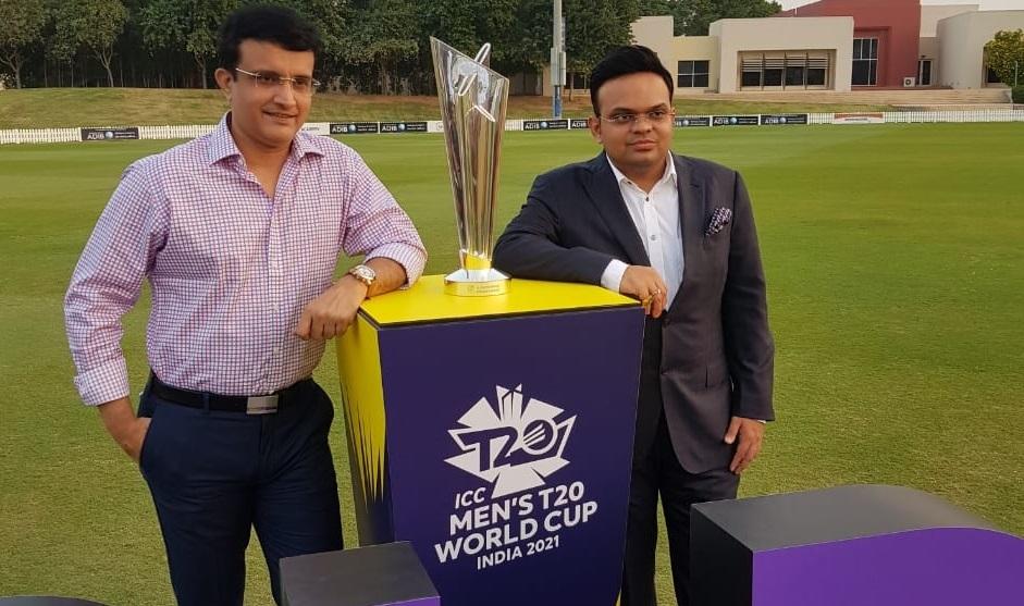 BCCI chief Sourav Ganguly and secretary Jay Shah