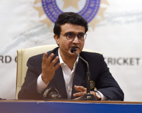 BCCI chief Sourav Ganguly
