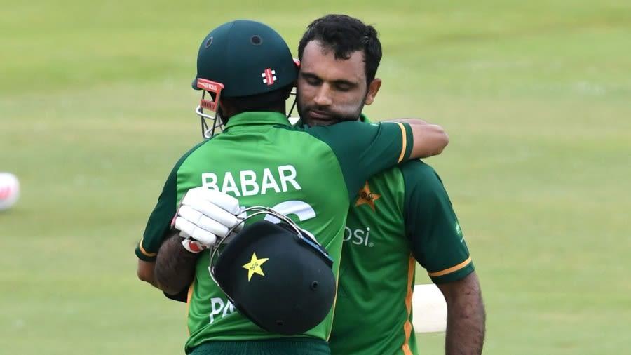 Babar Azam and Fakhar Zaman