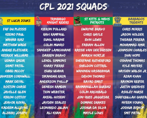 CPL 2021: Complete Squads Of All 6 Teams Announced