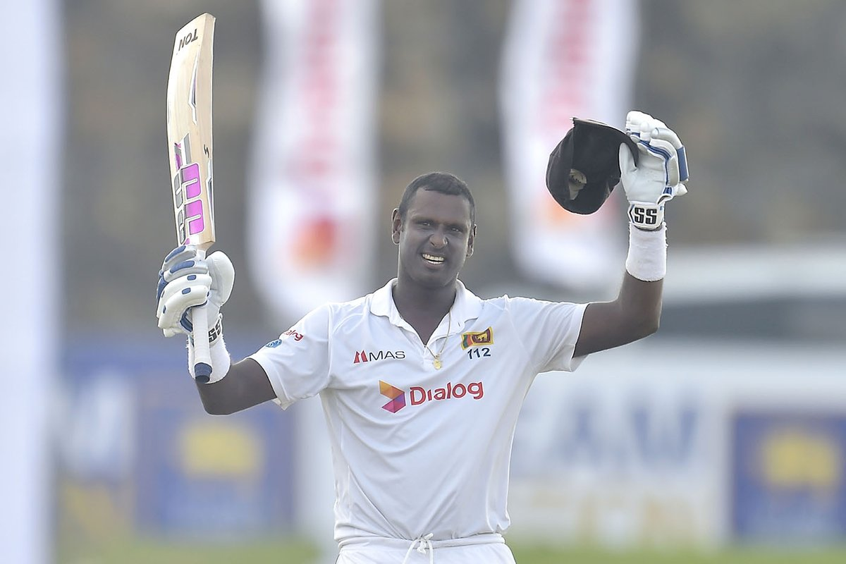 Angelo Mathews To Be Available For Selections For The Upcoming Sri Lanka Tours
