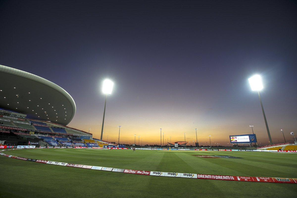 Sheikh Zayed Cricket Stadium in Abu Dhabi