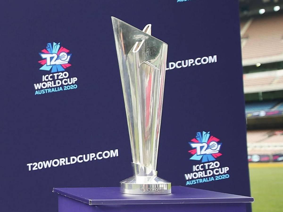 ICC T20I World Cup 2021 trophy