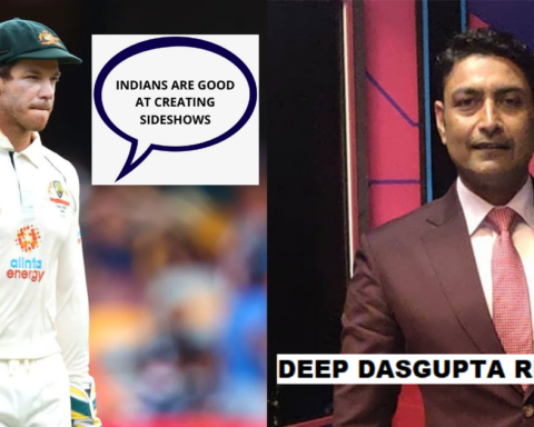 Deep Dasgupta Comes Up With A Fitting Response For Tim Paine