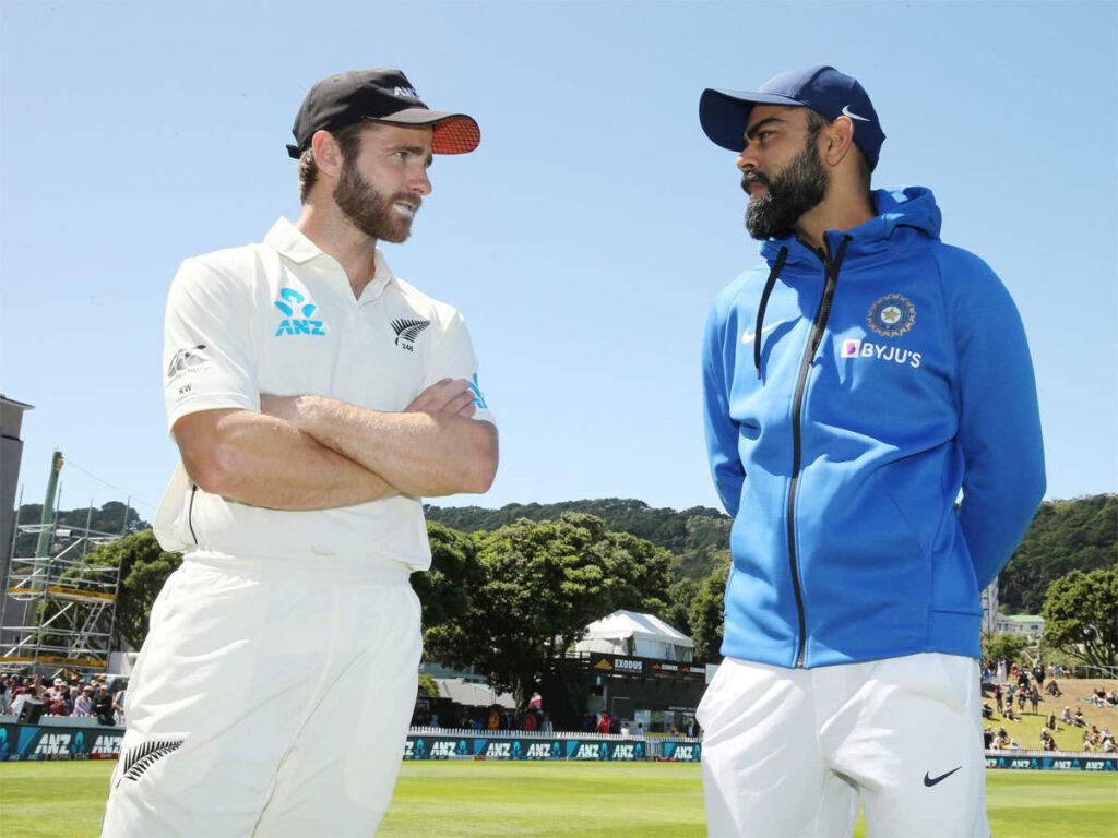 Kane Williamson and Virat Kohli