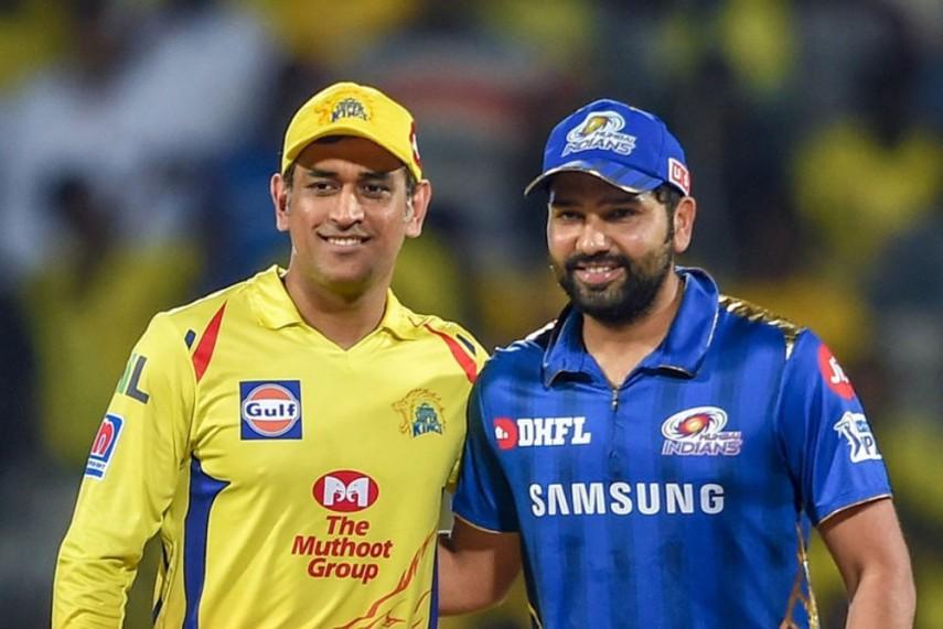 MS Dhoni and Rohit Sharma