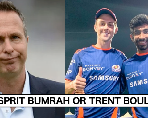 Michael Vaughan Picks The Better Fast Bowler Between New Zealand's Trent Boult And India's Jasprit Bumrah