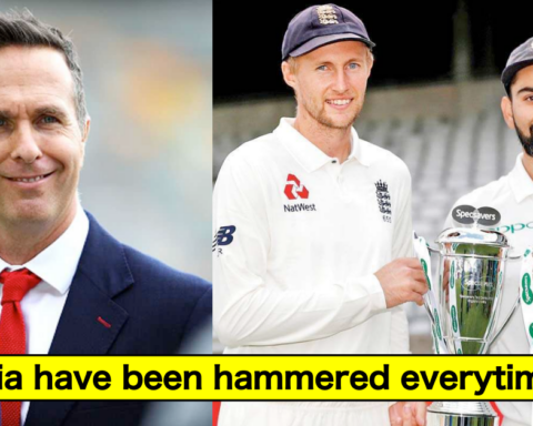 Michael Vaughan feels England will hammer India in the upcoming 5-match test series