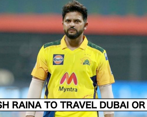 Suresh Raina Gives An Update Whether He Will To Travel Dubai For IPL 2021 Or Not