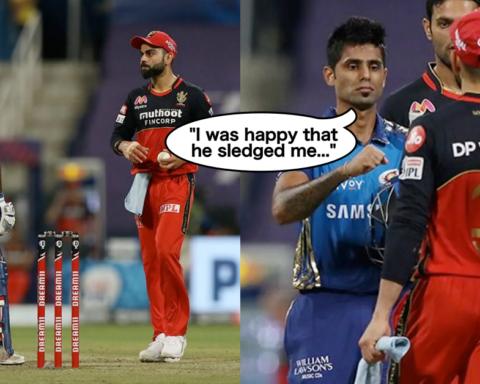 Suryakumar Yadav reveals why he was happy when Virat Kohli sledged him in IPL 2020