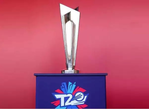 T20 World Cup 2021 trophy