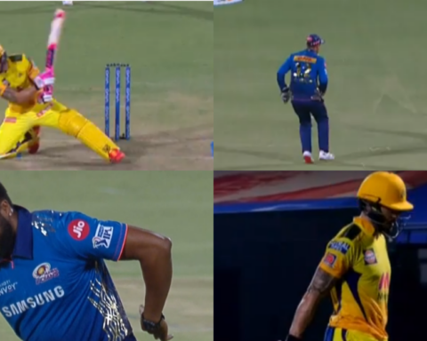 Watch: Faf Du Plessis Mistimes The Ramp Shot As He Falls After Reaching His Fifty