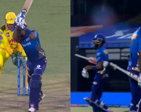 Watch: Suryakumar Yadav Falls Cheaply As MS Dhoni Claims A Brilliant Low Catch