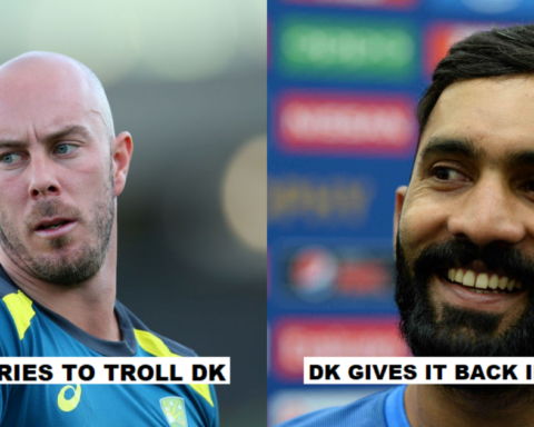 Dinesh Karthik Hilariously Trolls Chris Lynn
