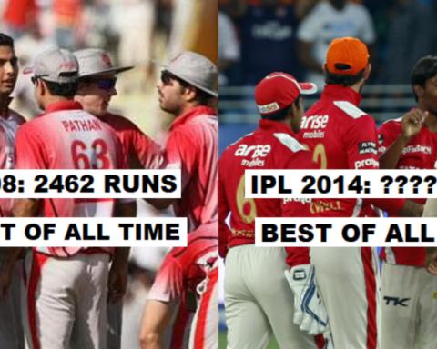 Season Wise Break Up Of Runs Scored By Punjab Kings (PBKS) In The IPL