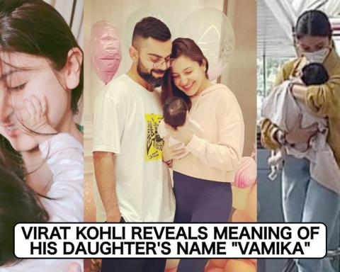 Virat Kohli Reveals Meaning Of Daughter Vamika's Name