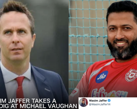 Wasim Jaffer, Michael Vaughan