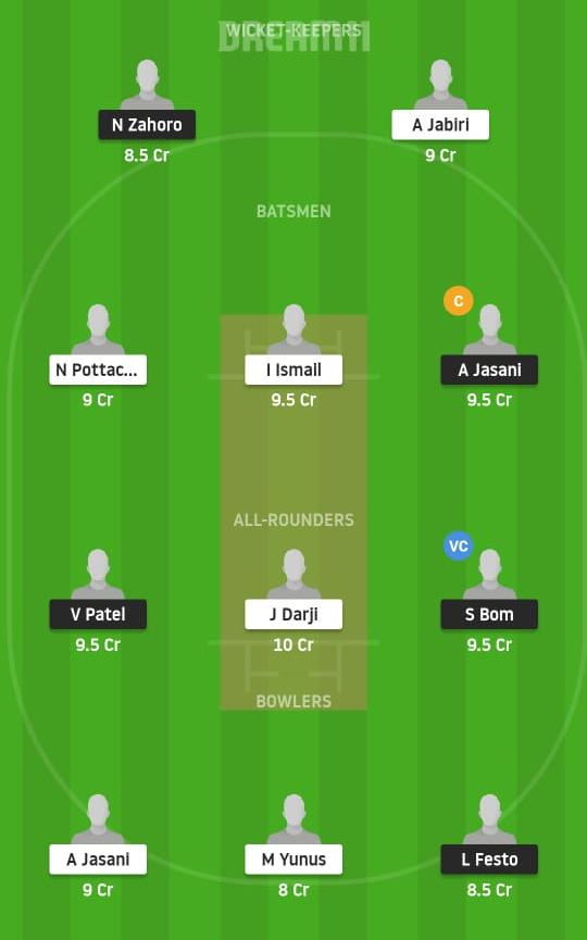 RNC vs SBH Dream11 Prediction Fantasy Cricket Tips Dream11 Team Today Tanzania T10