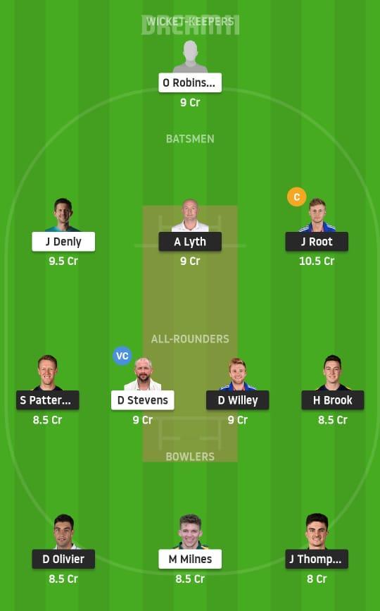 YOR vs KET Dream11 Prediction Fantasy Cricket Tips Dream11 Team English Test County Championship