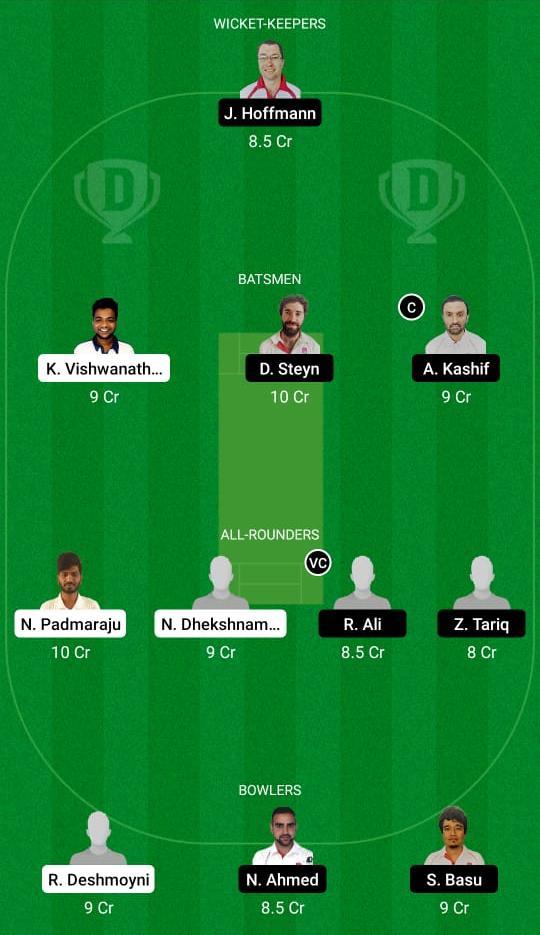 PCR vs BRG Dream11 Prediction Fantasy Cricket Tips Dream11 Team ECS T10 Prague