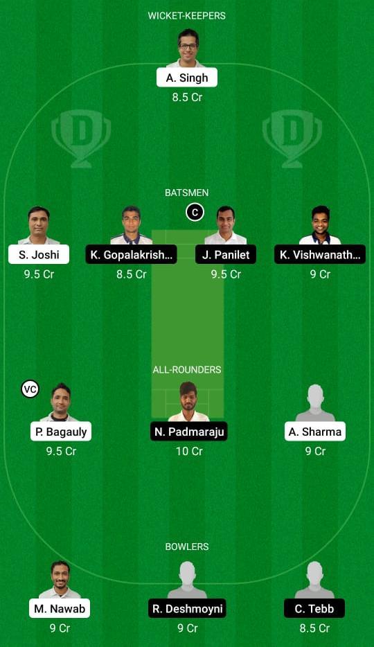 UCC vs PCR Dream11 Prediction Fantasy Cricket Tips Dream11 Team ECS T10 Prague