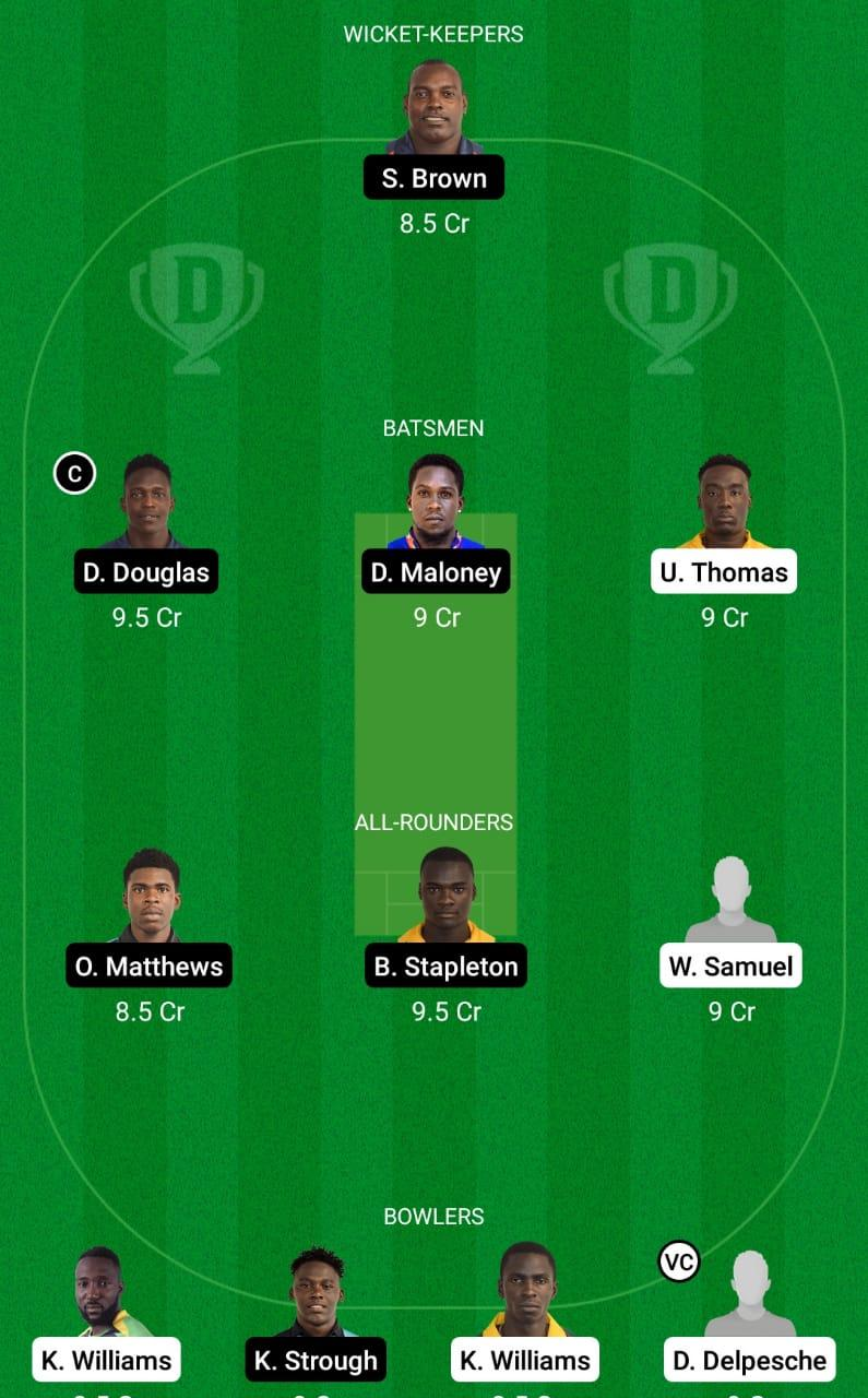BGR vs LSH Dream11 Prediction Fantasy Cricket Tips Dream11 Team Vincy Premier League