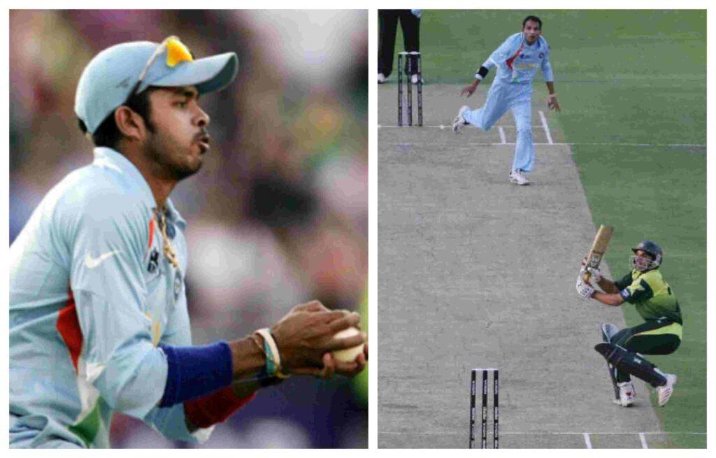 MS Dhoni, Sreesanth, Robin Uthappa, India vs Pakistan 2007 WT20 Final